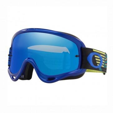 Antiparra Oakley O Frame MX Circuit Yel Blue