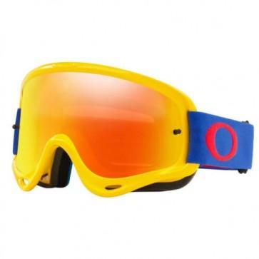 Antiparra Oakley O Frame MX Yellow Blue
