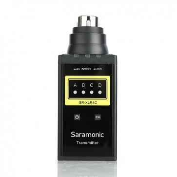 Transmisor Inalambrico Saramonic SR-XLR4C
