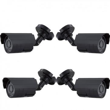 Set de 4 Camara de 850 TVL DVR - Chip Sony - Vonnic