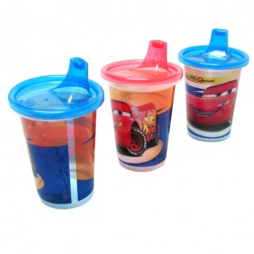 Set de 3 Vasos Boquilla Cars - The First Year