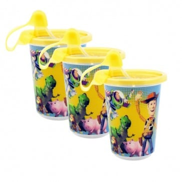 Set de 3 Vasos Boquilla Travel Lock Toy Story - The First Year