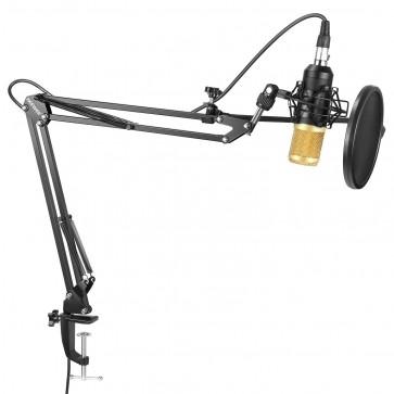 Set de Microfono Tijeras Shockmoun y Pop Neewer
