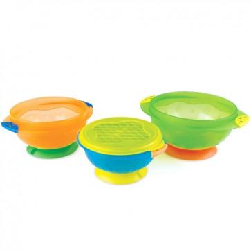 Set de 3 Bowls con Succión - Munchkin