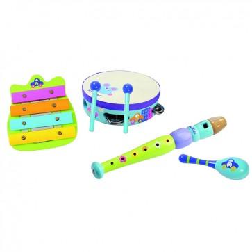 Set Musical Autos para bebé - Boikido