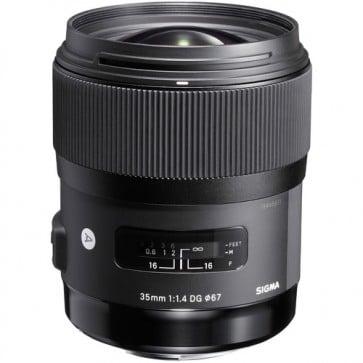 Sigma 35mm f / 1.4 DG HSM Art Lens para Nikon F