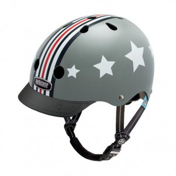 Casco Niño Silver Fly Little Nutty 3