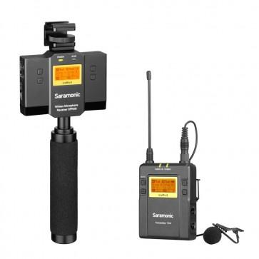 Sistema de Micrófono Inalámbrico Omni Lavalier para Smartphone Saramonic UwMic9