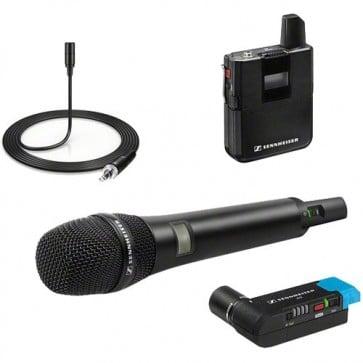 Sistema de Micrófono Inalámbrico Sennheiser AVX-Combo SET