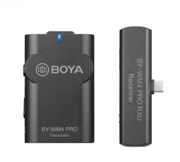 Sistema de Microfono Inalambrico para Android y otros dispositivos tipo C Boya
