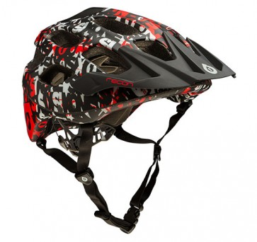 Casco de Bicicleta Cross Country Rojo