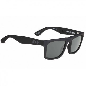 Lentes de sol Spy The Fold Soft Matte Black Happy Gray Green