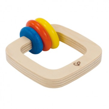 Sonajero bebé de madera Twister - Hape 1