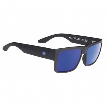 Lentes de sol Cyrus 2015 Matte Black Bronze with Blue Spectra Polarized SMU ISA - SPY