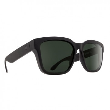 Lentes de sol Spy Bowie Soft Matte Black Happy Gray Green  2