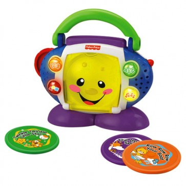 Toca CD Canta Conmigo- Fisher Price 3