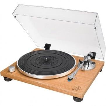 Tocadiscos Audio-Technica Consumer AT-LPW30TK Manual con Transmisión por Correa