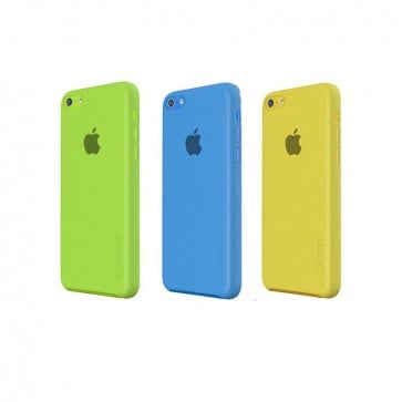 Carcasa Color Shell + Lámina Protectora - Iphone 5c - Colorant