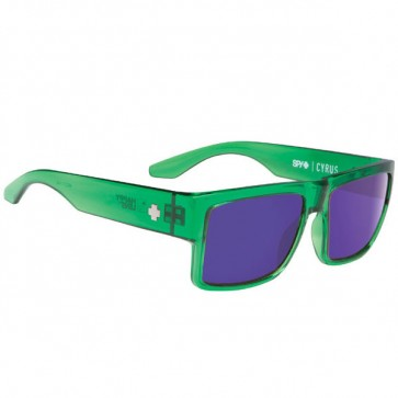 Lentes de sol Spy Cyrus Trans. Green Happy Bonze W Purple