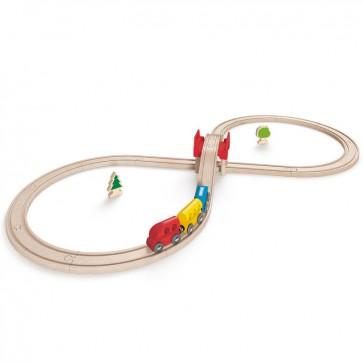 Juego Vias de Tren en Ocho Hape 2