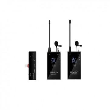 Sistema de Microfonos Inalambrico USB-C UM100 Kit6 CKMOVA