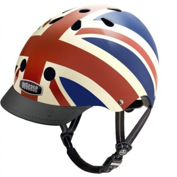 Casco Union Jack- Nutcase