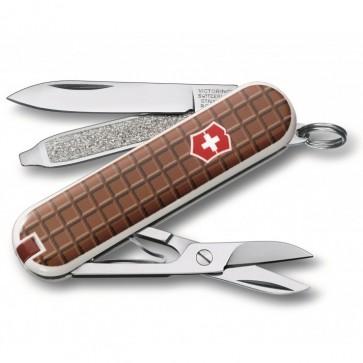 Navaja suiza Classic 7 funciones Chocolate