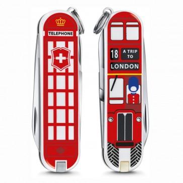 Navaja Victorinox Classic Trip to London Edición Limitada