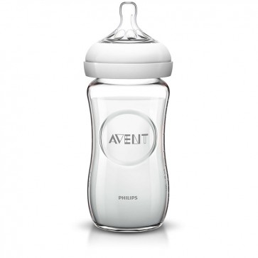 Mamadera de vidrio Natural 240 ml - Avent