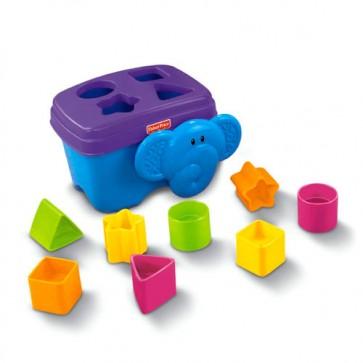 Juguete Fisher Price Elefante Cubeta de Figuras 1