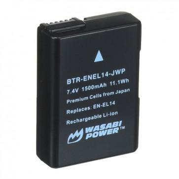 Bateria EN-EL14 para Nikon Wasabi