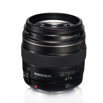 Lente 100 mm F2 para Canon Yongnuo 1
