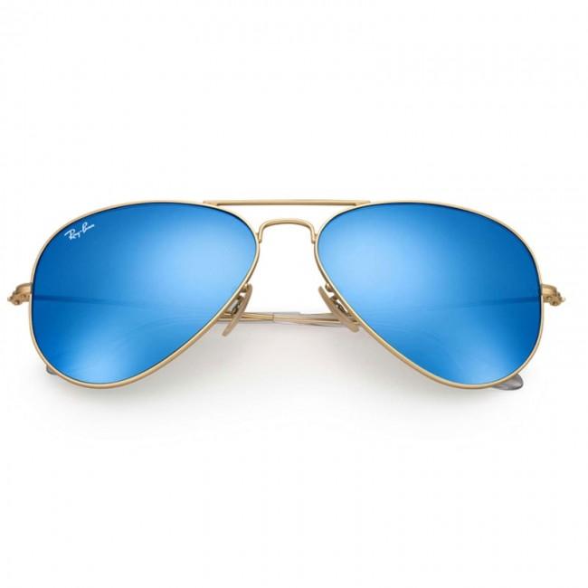 zapatos para correr amplia selección de colores y diseños moderno y elegante en moda Lentes Ray-Ban Aviador Flash Azul