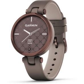Smartwatch Garmin Lily Correa de Cuero Cocoa Paloma