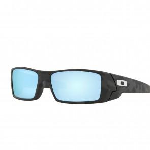 Lente de Sol Oakley Gascan Marco Matte Black Camo Lente Prizm Deep Water Polarized Calibre 60 Polarized