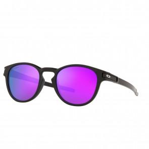 Lente de Sol Oakley Latch Marco Matte Black Lente Prizm Violet Calibre 53