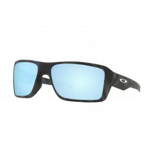 Lente de Sol Oakley Double Edge Matte Black Camo Prizm Deep Water Polarizado