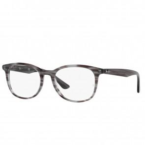 Lente Optico Ray-Ban Eyeglasses RB5356 Striped Grey Calibre 54