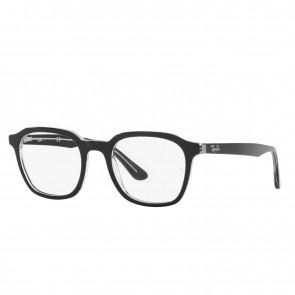 Lente Optico Ray-Ban Eyeglasses RB5390 Black On Transparent Calibre 52