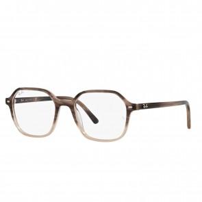 Lente Optico Ray-Ban Eyeglasses John Gradient Brown Havana Calibre 51