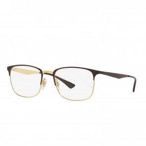 Lente Optico Ray-Ban Eyeglasses RB6421 Brown On Arista Calibre 54