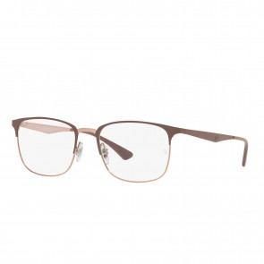 Lente Optico Ray-Ban Eyeglasses RB6421 Beige On Copper Calibre 54