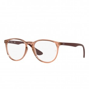 Lente Optico Ray-Ban Eyeglasses Erika Light Brown Calibre 51