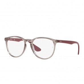 Lente Optico Ray-Ban Eyeglasses Erika Transparent Grey Calibre 51
