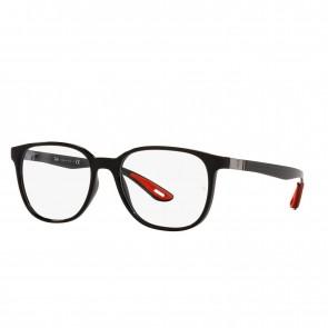 Lente Optico Ray-Ban Eyeglasses Marco Negro Calibre 53