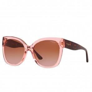 Lente de Sol Vogue VO5338S Rosado Transparente con Cafe
