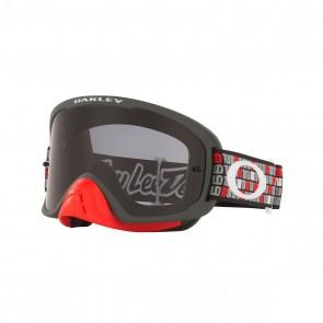 Antiparras Oakley O-Frame PRO MX TLD Monogram Gunmetal / Red