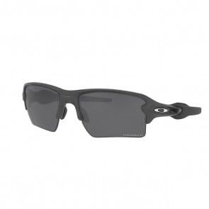 Lentes Oakley Flak 2.0 XL Steel PRIZM Black Polarizado