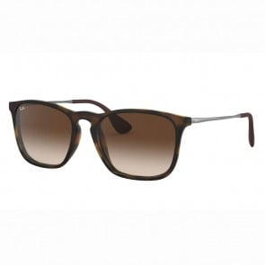 Lentes de Sol Ray Ban Chris Degragado Café