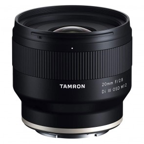 Lente Tamron 20mm f/2.8 Di III OSD M 1:2 para Sony E